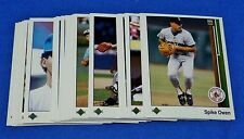 1989 Upper Deck Lot of (40) Baseball Dravecky-Lee Smith-Gaetti-Drabeck-Coleman