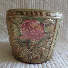 Weller Pottery Vintage Floral Vase Planter Pot
