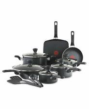 T-Fal 😘16 Piece Pots & Pan Set $169 NIB Culinaire Non-Stick Thermo Spot New Box