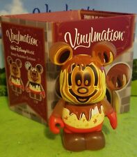 "DISNEY Vinylmation 3"" Park Set 1 Disney World Annual Passholder Waffle with Box"