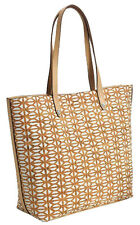 Brand NEW Stella & Dot Tote Fillmore Geometric Wine Cork Pattern Handbag Purse