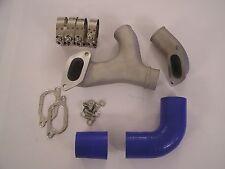 Top Mount Intercooler Aluminum Y Pipe Kit For 02-07 Subaru WRX STi + 03 04 05 06