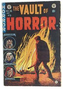 Vault of Horror 36 * complete copy  * 2.0 - 2.5ish * Pre Code Classic * EC