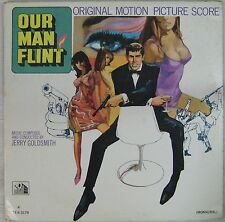 Notre homme Flint 33 tours Jerry Goldsmith 1966