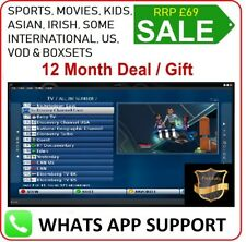12 Months Smart IPTV Deal - MAG M3U SMART IPTV STB EMU ONLY - RRP £69