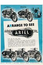 Ariel  Motorcycle print poster  ca 8 x 10 poster PRICE PER PRINT