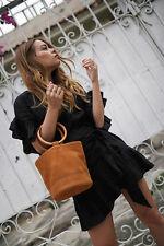 Etoile Isabel Marant Delicia Ruffled Trims Wrap Style Mini Dress 40
