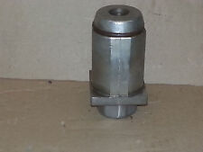A15-0851 Chg Stainless Steel Clad Hex Toe Foot Insert