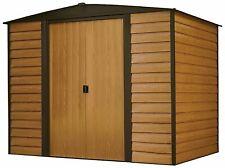 Arrow Sheds Woodridge Steel Outdoor Garden Storage Shed, 8 ft. x 6 ft.