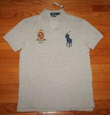 NWT Mens Polo Ralph Lauren Custom SLIM Fit Polo Shirt BIG PONY Crest LOGO *V1