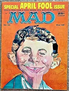 MAD Magazine #39 May 1958! FINE+! 6.5! $0.99 Start! TIGHT! SMOOTH! VERY SHARP!