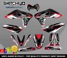 KIT ADESIVI GRAFICHE MURDER BLACK per moto SM 610 dal 2005 al 2010 DECALS