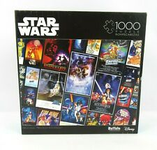 Buffalo Games Disney Star Wars 'Movie Posters' 1000 Piece Jigsaw Puzzle Compete