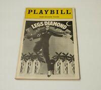 RARE Original 1988 Broadway ~ Legs Diamond ~ Opening Night Playbill ~Peter Allen