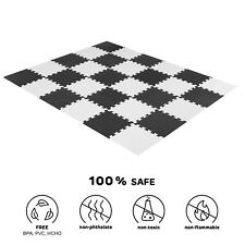 20 Pcs Large Eva Foam Mat Mats Soft Floor Tiles Interlocking Play Kids Baby UK