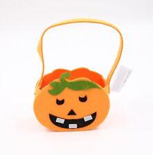 Kürbis Tasche Halloween Korb für Kinder Süßigkeitentasche Beutel