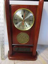 Cherry Wood Golf Men's Championship Trophy Clock - Country Club of Lansing 16'