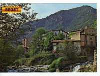 Postal Beget ( Girona ) Vista parcial.
