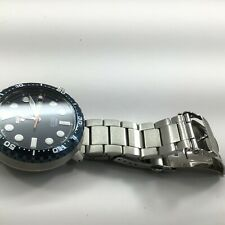 Seiko 5 Sports Stainless Steel Blue Dial Automatic Day-Date Mens Watch SRPC63K1