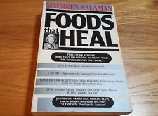 Foods That Heal by Maureen Kennedy Salaman  Paperback 1989