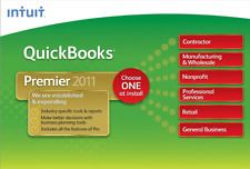 Intuit QuickBooks Premier Industry Edition 2011 Manufacturing and Wholesale