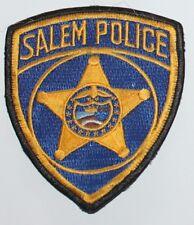 SALEM POLICE Oregon Capital City PD OR Used Worn patch