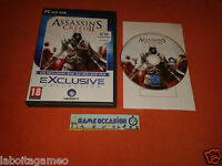 ASSASSIN'S CREED II 2 PC DVD-ROM PAL COMPLETE