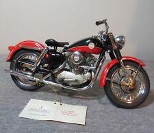 Franklin Mint Diecast 1957 Harley Davidson Sportster Xl Red Black B11Wc25 1/10
