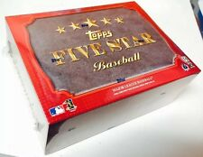RARE 2012 TOPPS FIVE 5 STAR BASEBALL HOBBY FACTORY SEALED HOBBY BOX HARPER TROUT