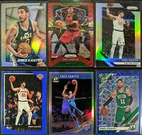 Lot of (6) Enes Kanter, Including 2014 Prizm silver, Optic Holo & more parallels