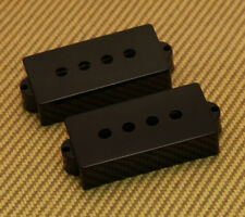099-2037-000 Genuine Fender USA/American Precision/P Bass Black Pickup Covers