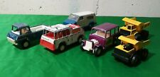 TootsieToy Tonka Lot of 6 Ambulance Dump Truck Van Bimini Buggy Vintage