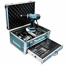 Makita HP457DWEX4 LI Percussion Trapano a Batteria da 18 V e 1.3 Ah (i1Z)