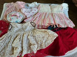 """Vintage Lot of Baby Doll Clothes 9 pieces  12-14"""""""