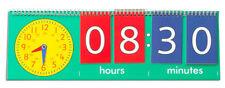 Teach/ Tell the TIME Chart FLIP Clock Maths Resources
