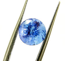 2.21 Ct DGSL Certified Natural Tanzanite Loose Round Cut Gemstone - 18082