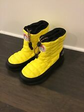 The North Face Thermoball Bootie II Boots Antarctic Expedition Yellow Size 12