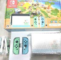Nintendo Switch Animal Crossing Special Edition DOCK + Joy-Con SET NO console