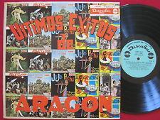 ULTIMOS EXITOS DE ARAGON - RARE LATIN LP - ORIGINAL DISCUBA LPD 565 VG++/EX