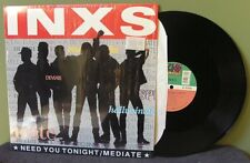 "Inxs ""Need You Tonight/Mediate"" 12"" NM in shrink OOP Orig Michael Hutchence"