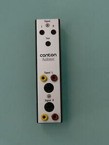 Canton Audiotest  neu