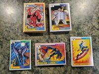 1991 Marvel Universe Set of 162 + 5 Hologram  Complete Series 2