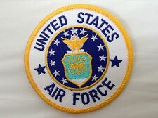 UNITED STATES AIR FORCE embroidered iron or sew on PATCH MOTIF US MILITARY