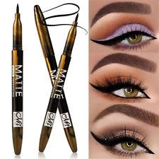 Matte Waterproof Long Lasting Smooth Black Eyeliner Soft Brush Cosmetics g