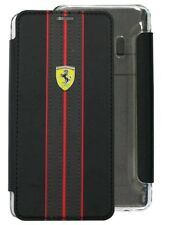 """Genuine Ferrari """"On Track"""" Collection PU Leather Book Case for Samsung Galaxy S9"""