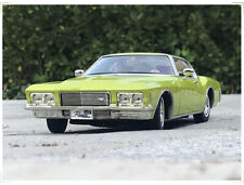 1/18 1971 Buick RIVIERA GS Road Signature Diecast Model Car Toys Boys Gifts