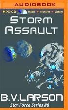 Star Force: Storm Assault 8 by B. V. Larson (2016, MP3 CD, Unabridged)
