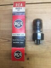 Used tested Westinghouse or RCA 6AX4GT tube