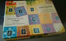 First Counting A lotto game Murfett Made in Australia GC