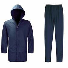 Rain Coat Jacket & Trouser Set Hydra Flex Waterproof Breathable Hiking XL